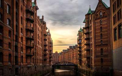 Amburgo---Speicherstadt