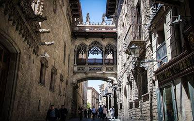 Barcellona--Barrio-Gotico