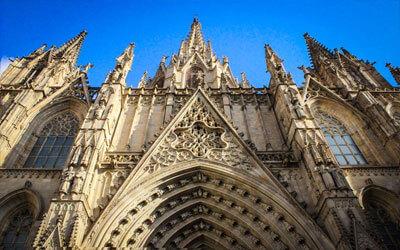 Barcellona-La-Cattedrale-di-Barcellona