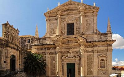 Cosa-vedere-a-Dubrovnik-Chiesa-di-Sant-Ignazio