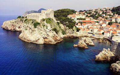 Cosa-vedere-a-Dubrovnik-Fortezza-di-Lovrijenac