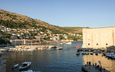 Cosa-vedere-a-Dubrovnik-Porto-di-Dubrovnik