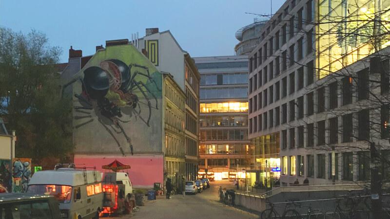 Gängeviertel Amburgo Nychos