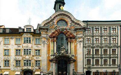 Monaco-di-Baviera-Asamkirche-Munich