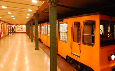 Budapest-Millennium-Underground