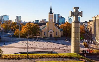 Tallinn-Piazza-Libertà