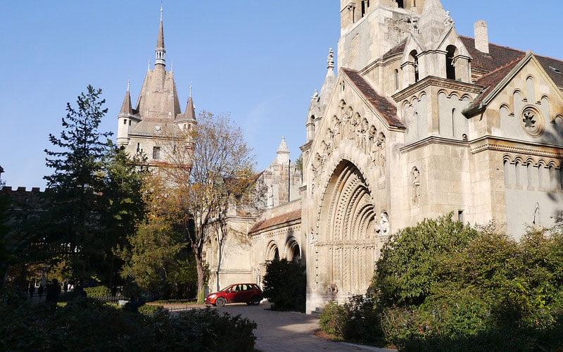 Vajdahunyad-Storia-Castello