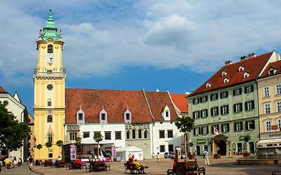 Visitare-Bratislava---Vecchio-Municipio