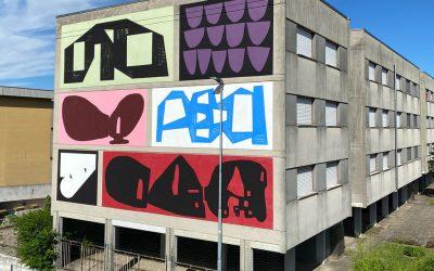 Street art a Mantova: nuovo murale di Erosie e 108