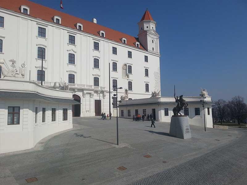 Bratislava - Il Castello di Bratislava