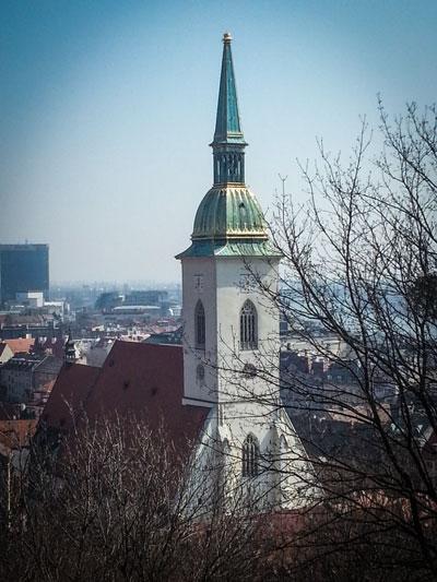 Bratislava - La Cattedrale di San Martino