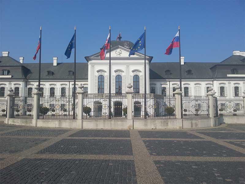 Bratislava - Palazzo di Grassalkoich