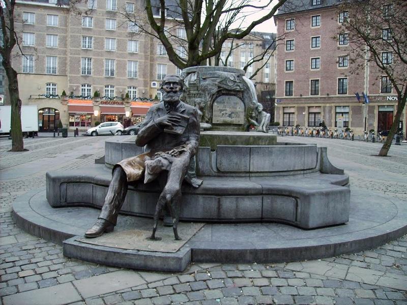 Bruxelles - La fontana di Karel Buls