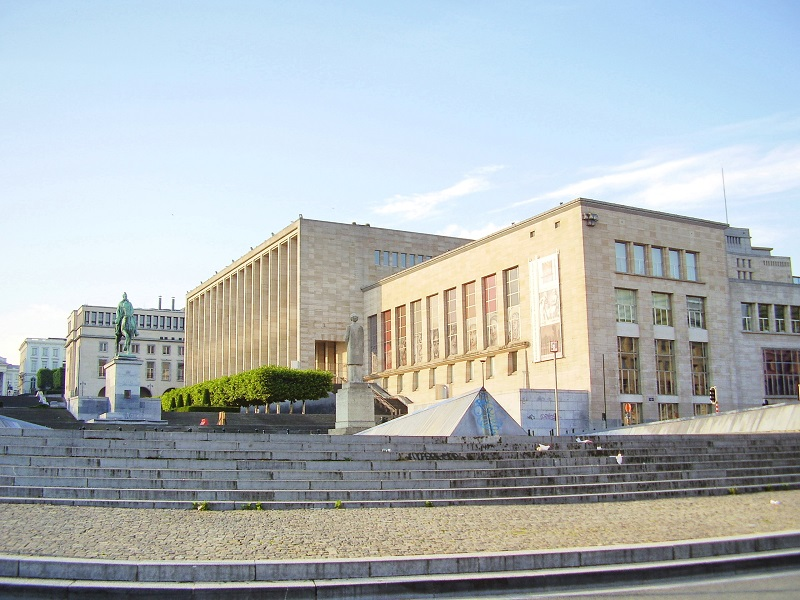 Bruxelles - La Biblioteca Reale del Belgio