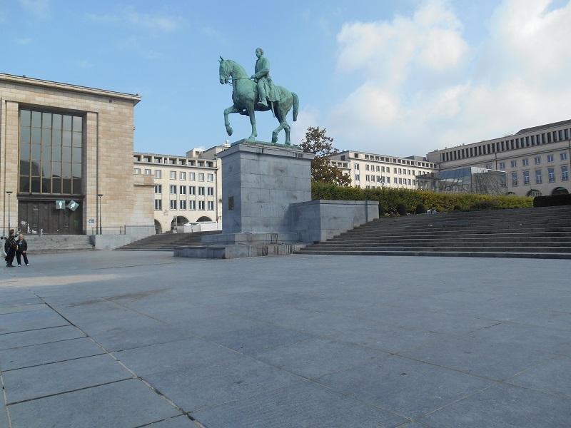 Bruxelles - Mont des Arts (Kunstberg)
