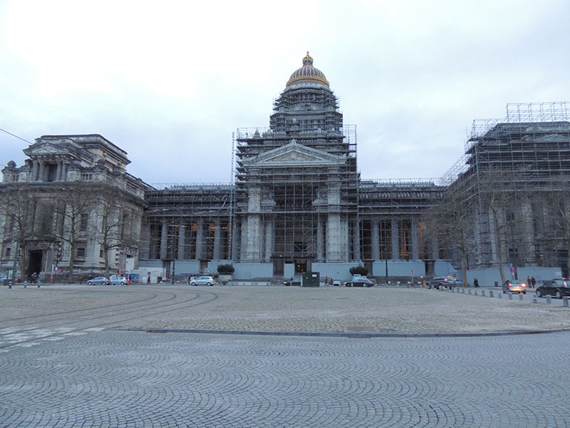 Bruxelles - Il Palazzo di Giustizia