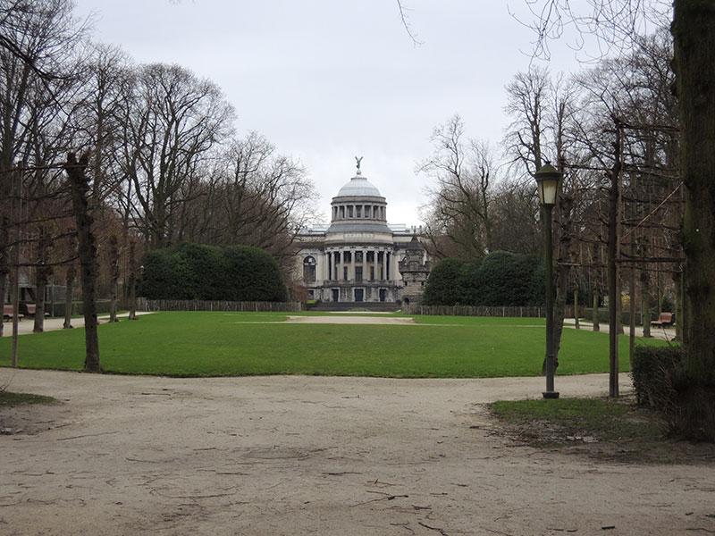 Bruxelles - Parco del Cinquantenario e Arco di Trionfo