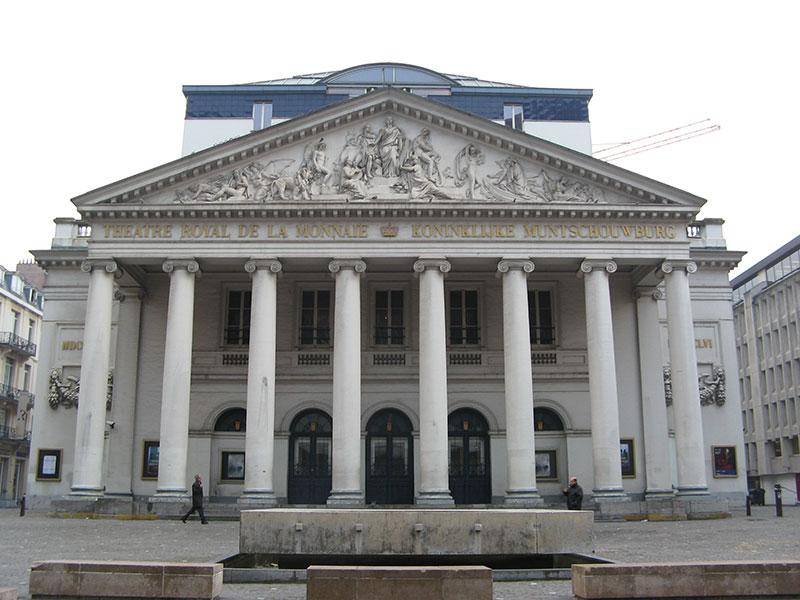 Bruxelles - Théâtre Royal de la Monnaie