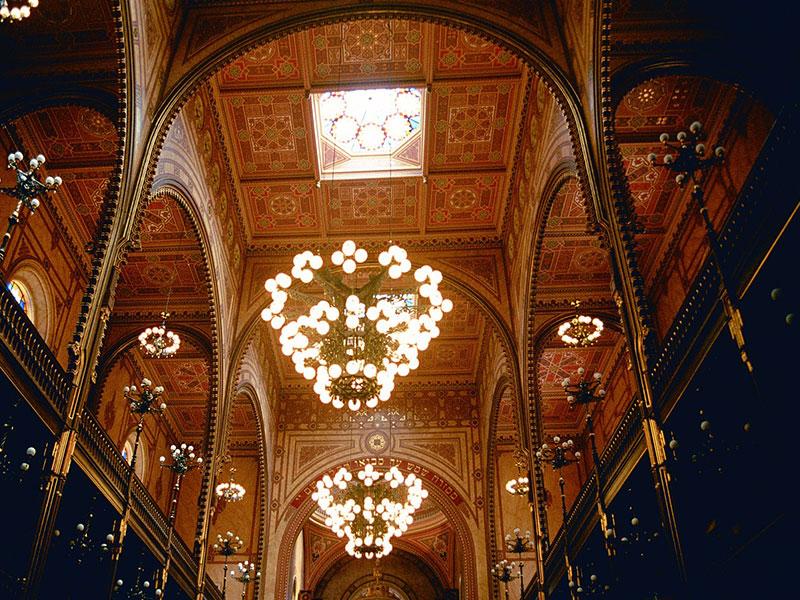 Budapest - Interno della Sinagoga