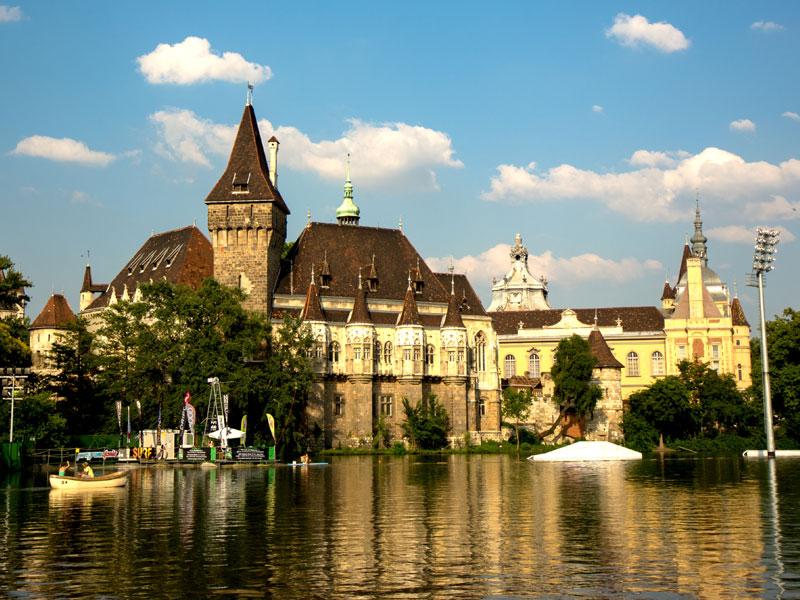 Budapest - Vajda Castle