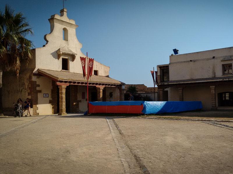 Cadice - Castillo de san sebastian