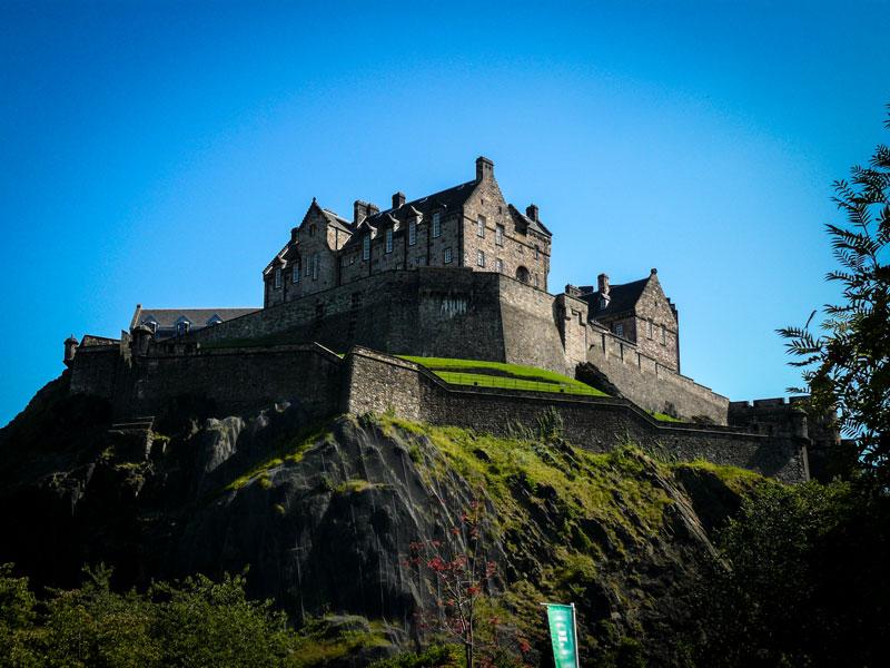 Copertina Castello di Edimburgo