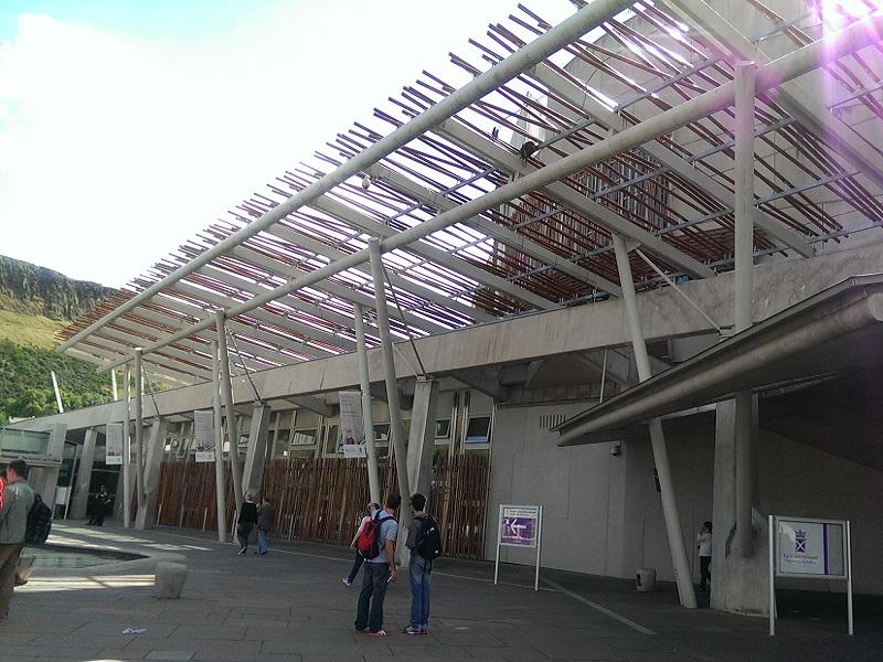 Edimburgo - Parlamento Scozzese