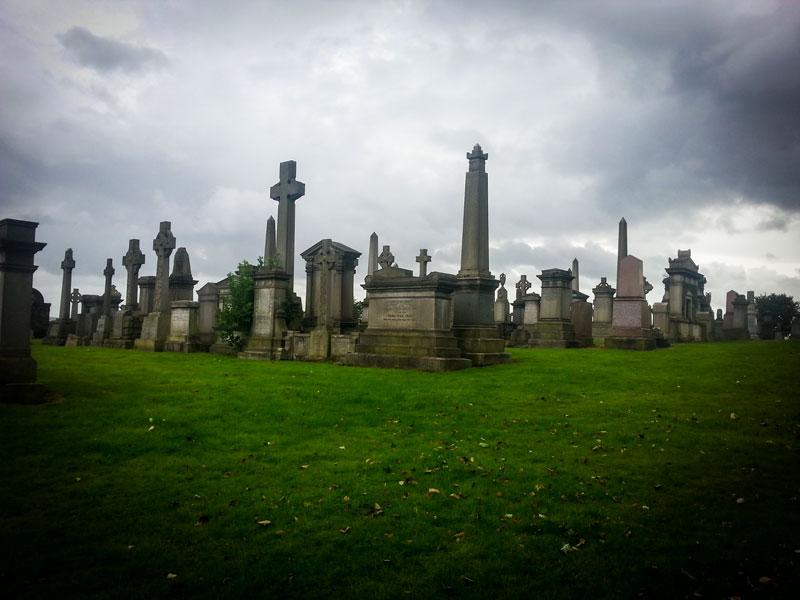 Copertina Glasgow Necropolis