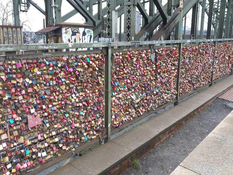 Koeln - Il ponte dei lucchetti