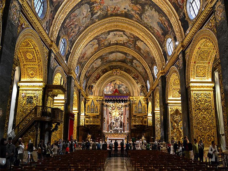 La Valletta - Concattedrale di San Giovanni