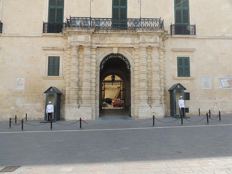La Valletta - Palazzo del Gran Maestro