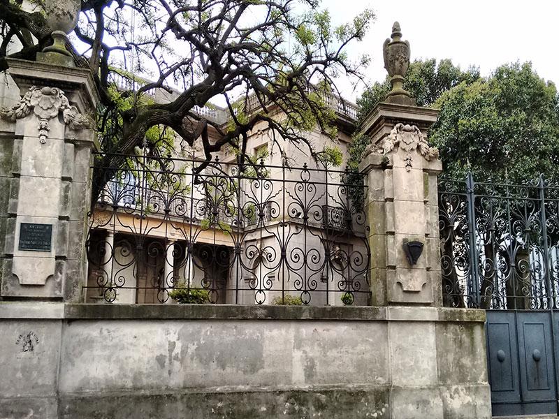Copertina Palacio Taranco