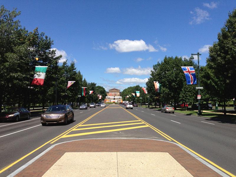 Philadelphia - Benjamin Franklin Parkway
