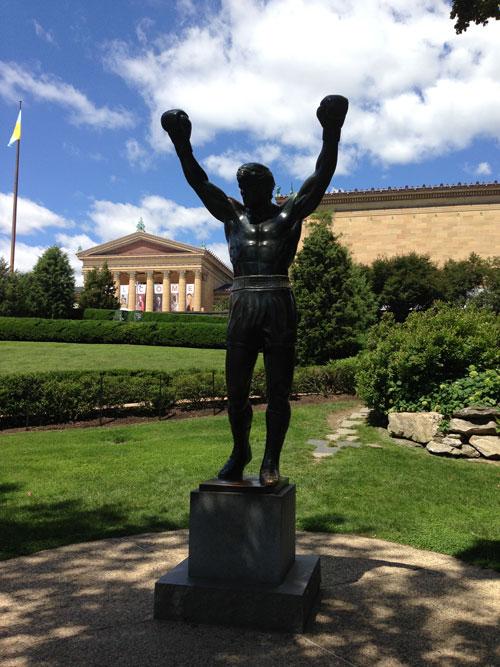 Philadelphia - Statua di Rocky