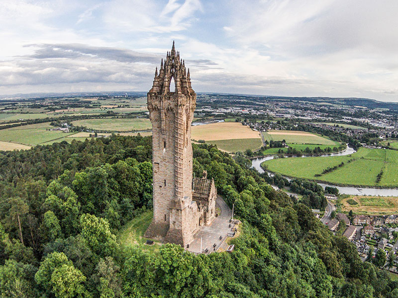 Copertina Wallace Monument