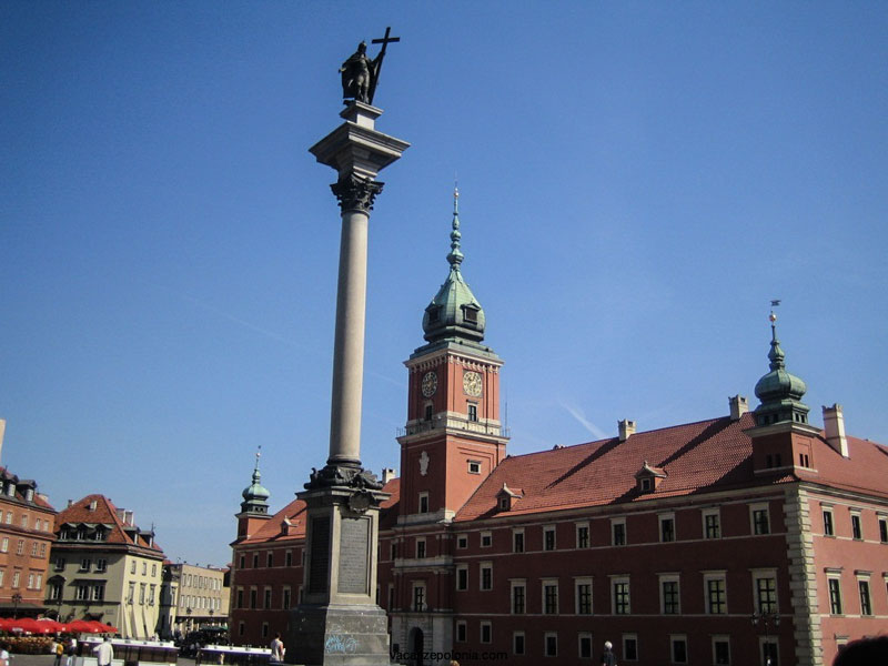 Varsavia - Colonna di Sigismondo
