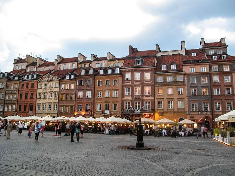 Varsavia - Rynek Starego Miasta