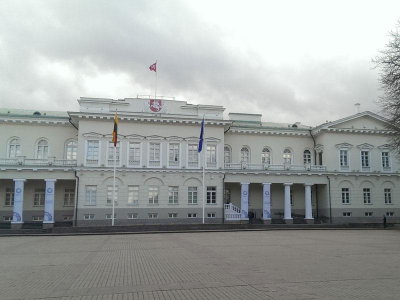 Vilnius - Palazzo Presidenziale e Università