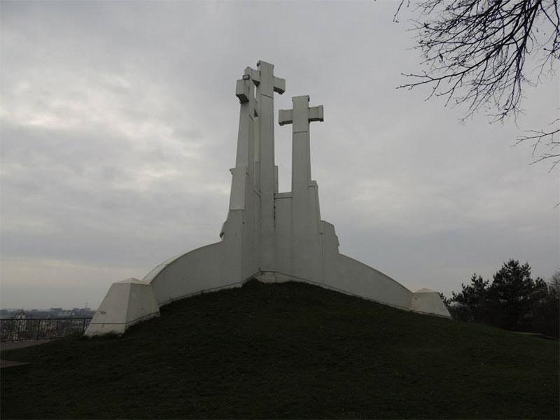 Vilnius - Le tre croci bianche