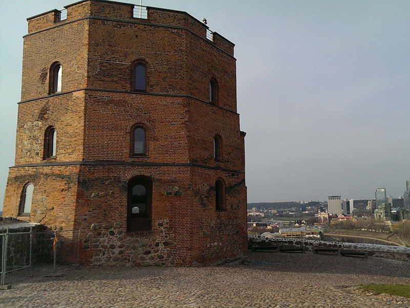 Vilnius - Torre di Gediminas